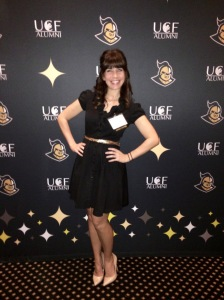 Aubree Rider at UCF Awards Dinner